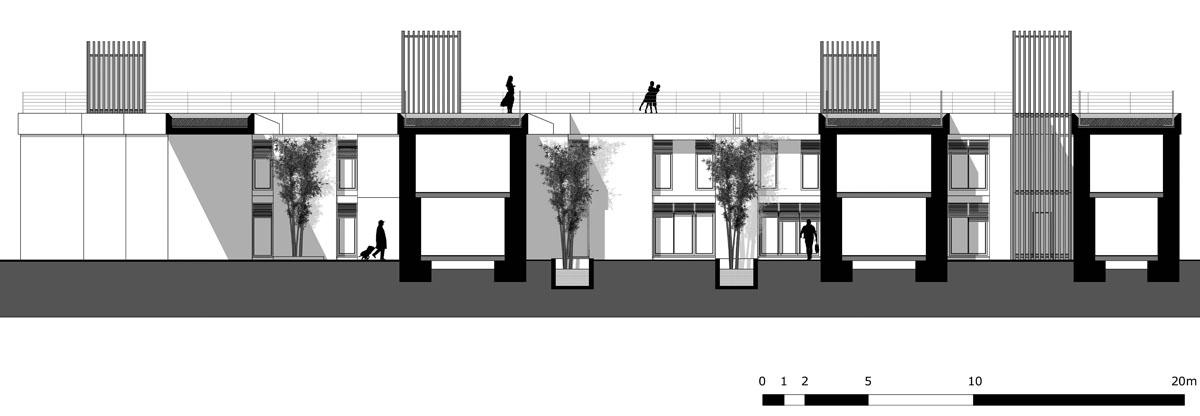 Dipl me plans et coupes c s architecte - Coupe toiture vegetalisee ...